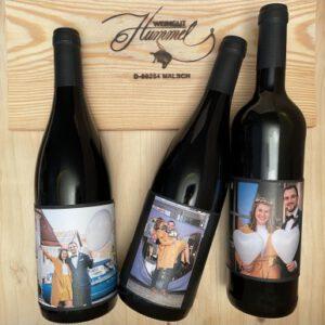 Blindverkostung Rotwein Personalisiert