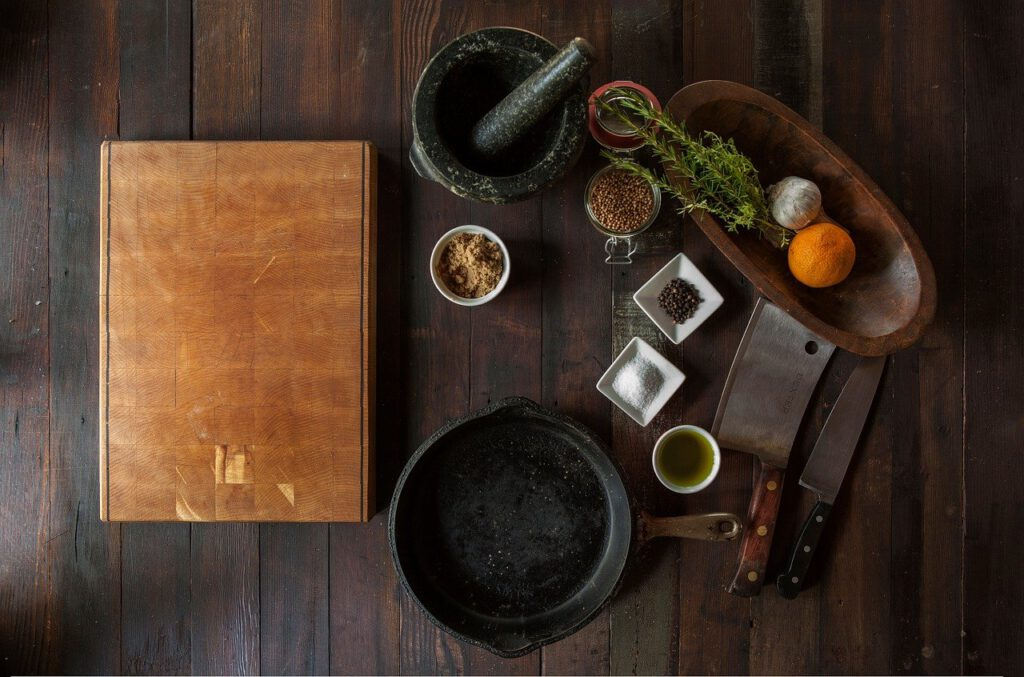 Zutaten zum Kochen